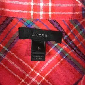 J. Crew Tops - J. Crew Boyfriend Plaid Shirt